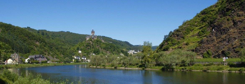 Die Mosel bei Cochem